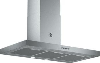 Campana Decorativa Balay 3BC095MX de 90cm | INOX | Control Mecánico | Filtros de aluminio | Iluminación LED