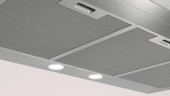 Campana Decorativa Balay 3BC095MX de 90cm | INOX | Control Mecánico | Filtros de aluminio | Iluminación LED - 3