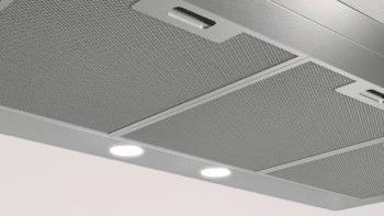 Campana Decorativa Balay 3BC095MX de 90cm | INOX | Control Mecánico | Filtros de aluminio | Iluminación LED - 4