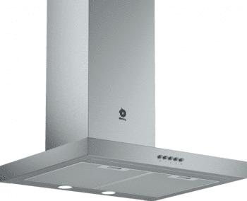 Campana decorativa Balay 3BC065MX de 60cm | INOX | Mandos Mecánicos | Diseño Rectangular