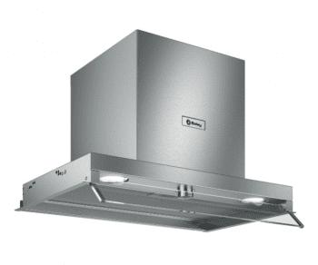 Campana Decorativa Balay 3BD866MX de 60 | INOX | Control Mecánico | Instalación en recirculación - 1