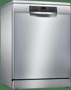 Lavavajillas Bosch SMS46FI01E Inoxidable de 60 cm para 13 Servicios | 3ª Bandeja| Motor Ecosilence A+++ | Serie 4