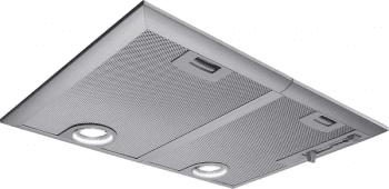 Campana Filtrante Encastrable Balay 3BF266NX en color Gris Metalizado, de 53 cm a 618 m³/h, con Iluminación LED | Clase C - 1