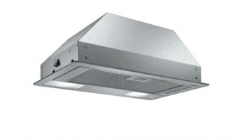 Campana Filtrante Encastrable Balay 3BF263NX de 53cm | Color Gris metalizado | Control Mecánico | Instalación en recirculación