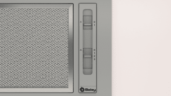 Campana Filtrante Encastrable Balay 3BF263NX de 53cm | Color Gris metalizado | Control Mecánico | Instalación en recirculación - 2