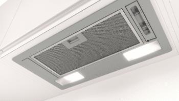 Campana Filtrante Encastrable Balay 3BF263NX de 53cm | Color Gris metalizado | Control Mecánico | Instalación en recirculación - 3