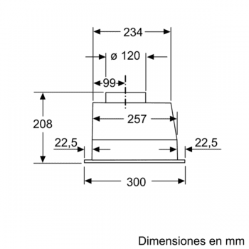 Grupo Filtrante Balay 3BF263NX en color Gris Metalizado, de 53cm a 302 m³/h   Clase D - 7
