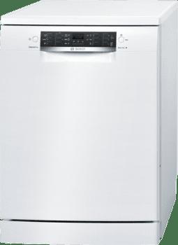 Lavavajillas Bosch SMS46HW04E Blanco de 60 cm con 12 servicios | Cesta Portacubiertos | Motor EcoSilence A++/stock