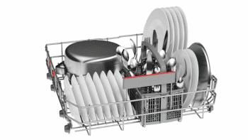 Lavavajillas Bosch SMS46HW04E Blanco de 60 cm con 12 servicios | Cesta Portacubiertos | Motor EcoSilence A++/stock - 4
