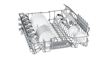 Lavavajillas Bosch SMS25AI03E Inox de 60 cm con 12 servicios | Cesta Portacubiertos | Motor EcoSilence A++ - 4