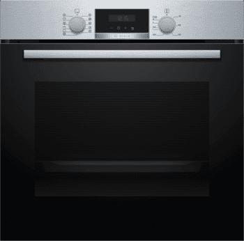Horno Bosch HBA174ES0 Pirolítico Inoxidable de 60 cm | 10 Recetas pre-programadas Gourmet | Calentamiento 3D Professional | Clase A | Serie 2