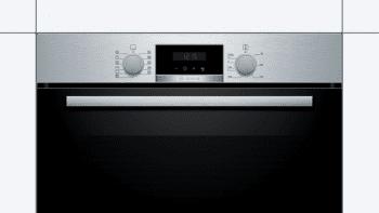 Horno Bosch HBA174ES0 Pirolítico Inoxidable de 60 cm | 10 Recetas pre-programadas Gourmet | Calentamiento 3D Professional | Clase A | Serie 2 - 2