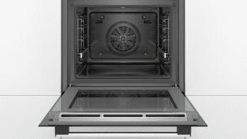 Horno Bosch HBA174ES0 Pirolítico Inoxidable de 60 cm | 10 Recetas pre-programadas Gourmet | Calentamiento 3D Professional | Clase A | Serie 2 - 4
