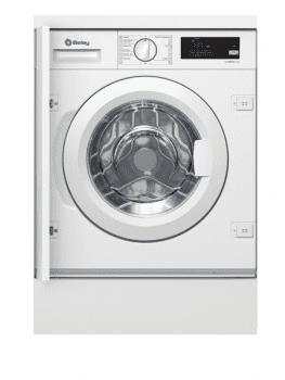 Lavadora Carga Frontal Balay 3TI982B de 8Kg Integrable | 1200rpm | Color Blanco | Motor ExtraSilencioso | Clase A+++