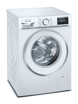 Lavadora Siemens WM16XFH1ES Blanca de 10 Kg a 1600 rpm | Tecnología sensoFresh | WiFi Home Connect | Motor iQdrive A+++ -30% | iQ800