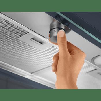 Campana Integrable Electrolux EFP126X de 60cm | INOX | Control electrónico | 3 niveles de potencia - 5