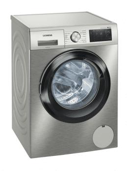 Lavadora Siemens WM14UQ9XES Inox de 9 Kg a 1400 rpm | Tecnología sensoFresh | WiFi Home Connect | Motor iQdrive A+++ -30% | iQ500