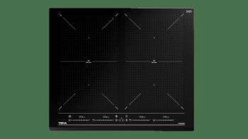 Placa de Inducción Teka IZF 64600 BK MSP de 60 cm con 6 zonas de inducción (4 + 2 Flex combinadas)