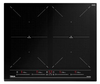 Placa de Inducción Teka IZF 64600 BK MSP (Ref. 112500035) de 60 cm con 6 zonas de inducción (4 + 2 Flex combinadas)