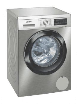 Lavadora Siemens WU14UT7XES Inox antihuellas de 9 Kg a 1400 rpm | Tecnología varioSpeed | Motor iQdrive A+++ -30% | iQ500