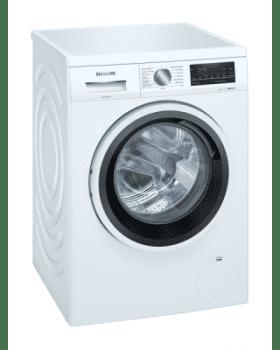 Lavadora Siemens WU12UT71ES Blanca de 9 Kg a 1200 rpm | Tecnología varioSpeed | Motor iQdrive A+++ -30% | iQ500