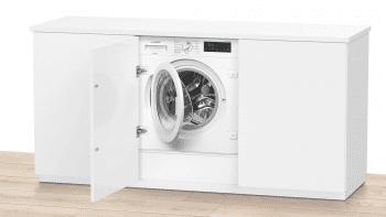 Lavadora Siemens WI14W541ES Integrable de 8 Kg a 1400 rpm | Tecnología varioSpeed | Motor iQdrive A+++ -10% | iQ700 - 2
