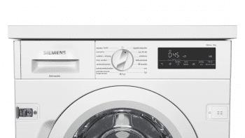 Lavadora Siemens WI14W541ES Integrable de 8 Kg a 1400 rpm | Tecnología varioSpeed | Motor iQdrive A+++ -10% | iQ700 - 3