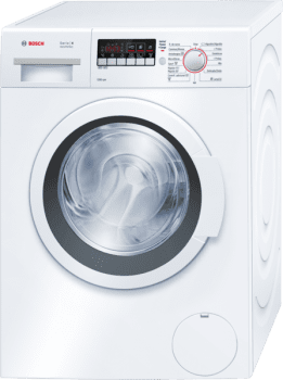 Lavadora Bosch WAK24268EE de 8 Kg a 1200 rpm con tambor VarioDrum | Función Pausa + Carga | Clase A+++ | Serie 4