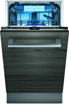 Lavavajillas Siemens SR65ZX11ME Integrable de 45 cm para 10 servicios | Secado mediante Zeolitas® | Función varioSpeed+ | WiFi Home Connect | Clase A+++ | iQ500