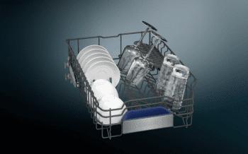 Lavavajillas Siemens SR65ZX11ME Integrable de 45 cm para 10 servicios | Secado mediante Zeolitas® | Función varioSpeed+ | WiFi Home Connect | Clase A+++ | iQ500 - 4