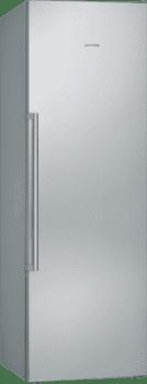 Congelador 1P Siemens GS36NAIDP Inoxidable antihuellas de 186 x 60 cm No Frost con Super congelación | Dispensador de hleio | Clase A+++ | iQ500