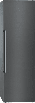 Congelador 1P Siemens GS36NAXEP Acero Inoxidable Negro de 186 x 60 cm No Frost | Dispensador de hleio | Clase A++ | iQ500 - 1