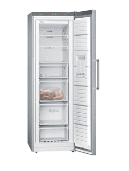 Congelador Vertical Siemens GS36NVIEP 1P Inoxidable antihuellas de 186 x 60 cm 242 L No Frost | Clase A++ | iQ300 - 2