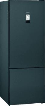 Frigorífico Combi Siemens KG56FPXDA Acero Inoxidable negro de 193 x 70 cm No Frost | WiFi Home Connect | Zona hyperFresh Premium 0ºC | Clase A+++ | iQ700