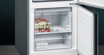 Frigorífico Combi Siemens KG56FPXDA Acero Inoxidable negro de 193 x 70 cm No Frost | WiFi Home Connect | Zona hyperFresh Premium 0ºC | Clase D | iQ700 - 6