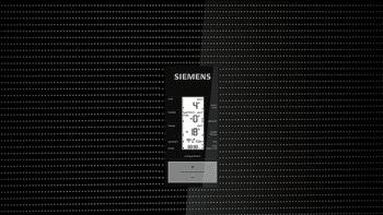Frigorífico Combi Siemens KG56FSBDA Cristal negro de 193 x 70 cm No Frost | WiFi Home Connect | Zona hyperFresh Premium 0ºC | Clase D | iQ700 - 3