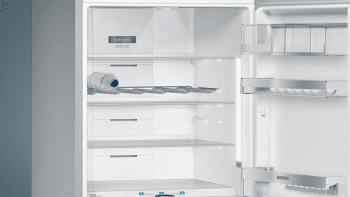Frigorífico Combi Siemens KG56FSBDA Cristal negro de 193 x 70 cm No Frost | WiFi Home Connect | Zona hyperFresh Premium 0ºC | Clase D | iQ700 - 4