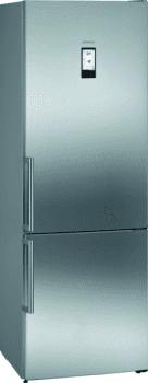 Frigorífico Combi Siemens KG49NAIEP Acero Inoxidable antihuellas de 203 x 70 cm No Frost | WiFi Home Connect | Zona hyperFresh Plus 0ºC | Clase A++ | iQ700