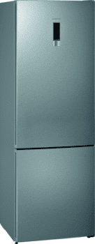 Frigorífico Combi Siemens KG49NXIEA Acero Inoxidable antihuellas de 203 x 70 cm No Frost | WiFi Home Connect | Zona hyperFresh | Clase A++ | iQ300
