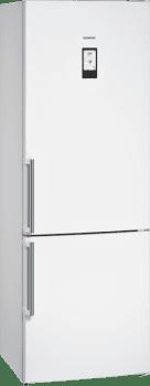 Frigorífico Combi Siemens KG49NAWEP Blanco de 203 x 70 cm No Frost | WiFi Home Connect | Zona hyperFresh Plus 0ºC | Clase E | iQ500