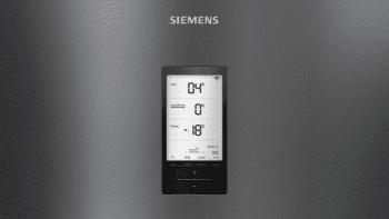 Frigorífico Combi Siemens KG39FPXDA Acero Inoxidable Negro de 203 x 60 cm No Frost   WiFi Home Connect   Zona hyperFresh Premium 0ºC   Clase D   iQ700 - 3