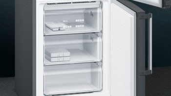 Frigorífico Combi Siemens KG39NHXEP Acero Inoxidable Negro de 204 x 60 cm No Frost | WiFi Home Connect | Zona hyperFresh Plus 0ºC | Clase E | iQ500 - 4