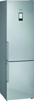 Frigorífico Combi Siemens KG39NAIEP Acero Inoxidable Antihuellas de 203 x 60 cm No Frost | WiFi Home Connect | Zona hyperFresh Plus 0ºC | Clase E | iQ500