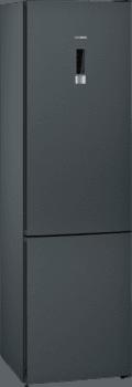 Frigorífico Combi Siemens KG39NXXEA Acero Inoxidable Negro de 203 x 60 cm No Frost | Zona hyperFresh | Clase E | iQ300