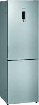 Frigorífico Combi Siemens KG36NXIDA Acero Inoxidable Antihuellas de 186 x 60 cm No Frost | Zona hyperFresh | Clase D | iQ300