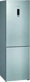Frigorífico Combi Siemens KG36NXIEA Acero Inoxidable Antihuellas de 186 x 60 cm No Frost | Zona hyperFresh | Clase A++ | iQ300