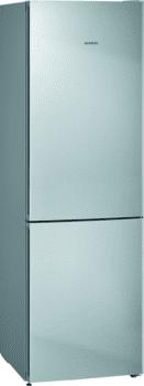 Frigorífico Combi Siemens KG36NVIDA Acero Inoxidable Antihuellas de 186 x 60 cm No Frost | Zona hyperFresh | Clase D | iQ300