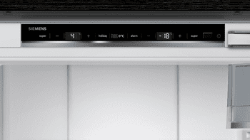 Frigorífico Combi Siemens KI86FPDD0 Integrable de 177.2 x 55.8 cm No Frost   Zona hyperFresh Premium 0ºC   Clase A+++   iQ700 - 3