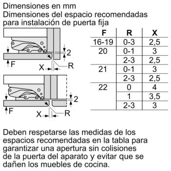 Frigorífico Combi Siemens KI86NAFF0 Integrable de 177.2 x 55.8 cm No Frost   Zona hyperFresh Plus 0ºC   Clase A++   iQ500 - 9