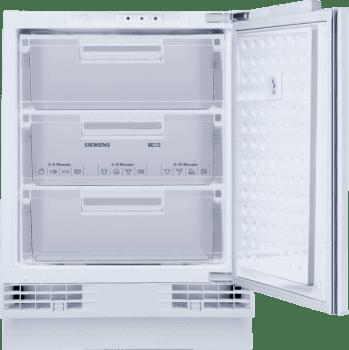Congelador Vertical Siemens GU15DADF0 Integrable Bajo encimera de 82 x 59.8 cm | Súper congelación | Clase A+ | iQ500